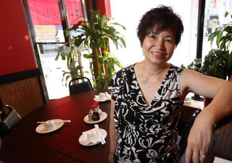 Co-owner Doris Mei.